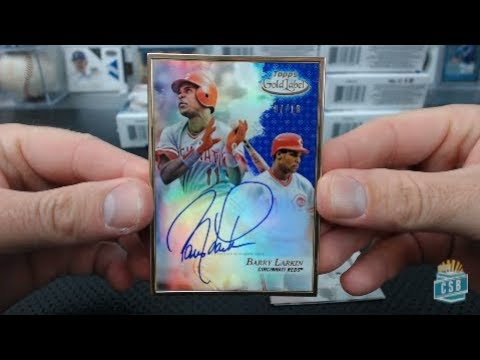 2017 Topps Gold Label Baseball 16 Box Case Break #3