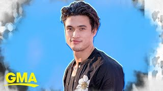Charles Melton called his mom his 'queen' and we're not crying, you're crying