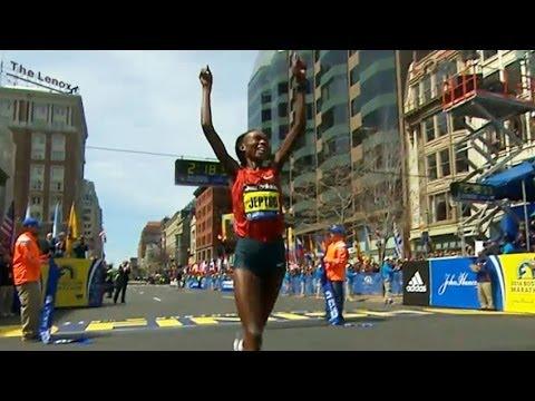 Rita Jeptoo wins 2014 Boston Marathon, Women's Race - Universal Sports