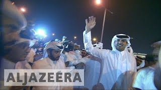 Thousands celebrate Sheikh Tamim homecoming in Qatar