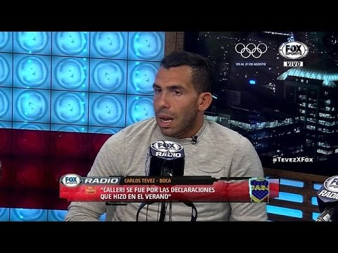 Entrevista a Carlos Tevez - FOX Sports Radio - Completa [07/03/2016]
