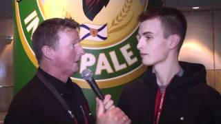 2011 Tim Hortons Brier - One on One with Jamie Danbrook