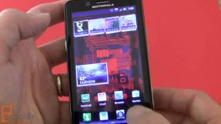 Motorola DROID BIONIC (Verizon) video tour - part 1 of 2