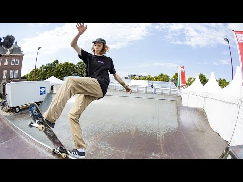 Kobe Graf Dew Tour Am Series Amsterdam Interview 2016