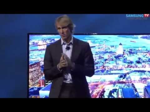 Michael Bay EXPLODES at press conference CES 2014