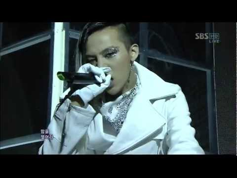 Bigbang 0401 sbs Inkigayo fantastic Baby video