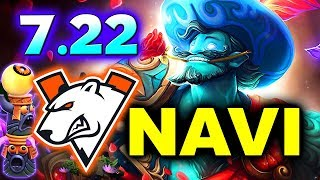 VP vs NAVI - 7.22 PATCH NEW META! - Adrenaline Cyber League DOTA 2