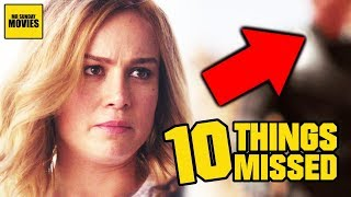 Captain Marvel Trailer Breakdown - Easter Eggs & Ten Things Missed