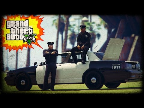 GTA 5 - Officer Michael De Santa  | GTA V Cinematic Skit