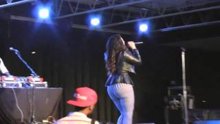 Keke Sings New Song & Shakes Dat Booty for the Crowd!