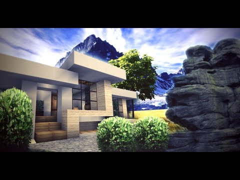 Minecraft - Small Modern House