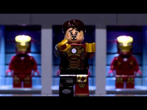 Lego Iron Man's New Suit