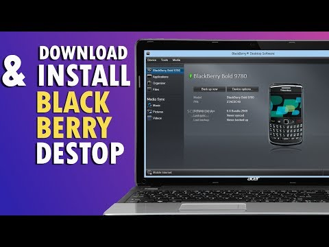 BlackBerry Desktop Manager Download/Install