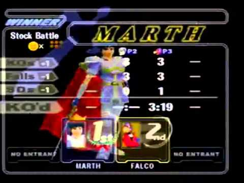 MM Kelvin (Fox/Marth) Vs CHAP (Falco)