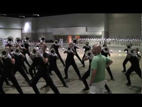 Cavaliers Hornline 2012 - Double Tonguing