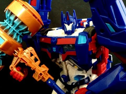 Benscollectables reviews Transformers Prime Platinum Edition Ultra Magnus