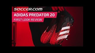 adidas Predator 20 Review: New Tech Revealed | FIRST LOOK | SOCCER.COM