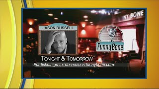 This weekend's Funny Bone comedians Jason Russell and Jeff Bodart