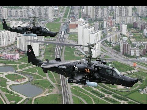 Ка-50 Чёрная акула и Ка-52 Аллигатор кошмар НАТО