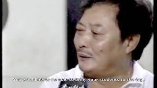 Rare footage of Wong Shun Leung talking about Bruce Lee