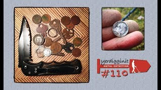 My first Metal Detecting outing of 2019 • Nice variety of finds • MD #110