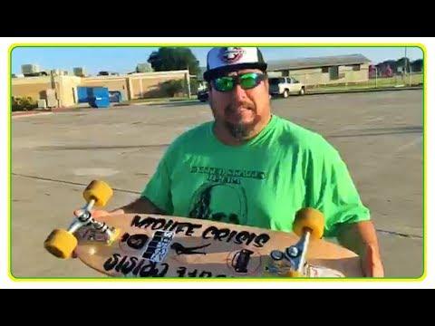 Arnold Mendiola - Truck / Board Comparison Gullwing Sidewinders Carvers Shark Wheels