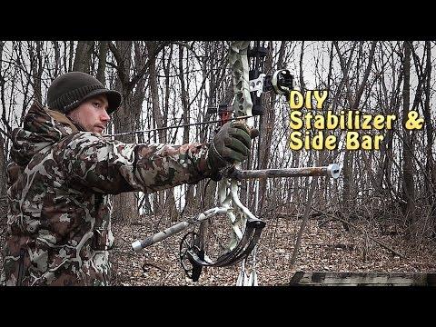 DIY Archery Stabilizer and Side Bar