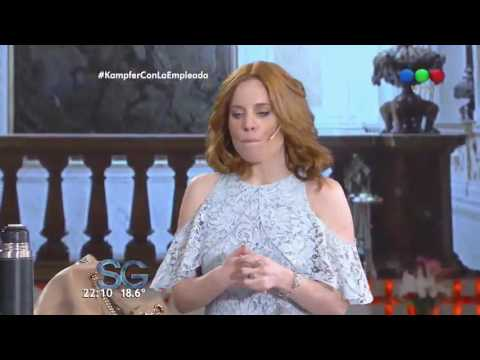 Agustina Kämpfer encaró a Susana y le reclamó por cuestionar sus relaciones con Boudou y Rial