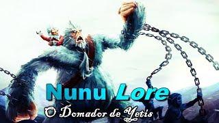O Domador de Yetis Lore Nunu League of Legends