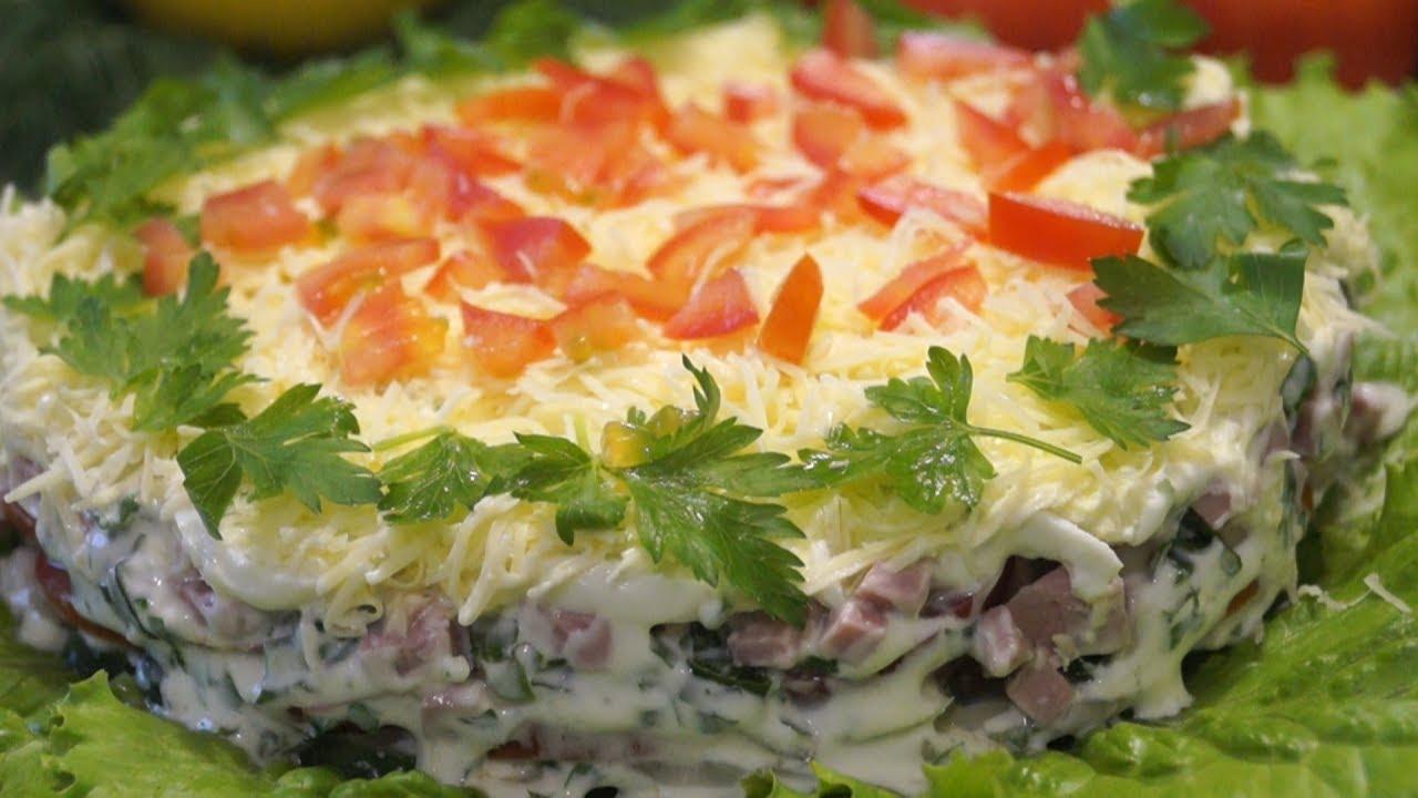 Вкусные и доступные салаты с