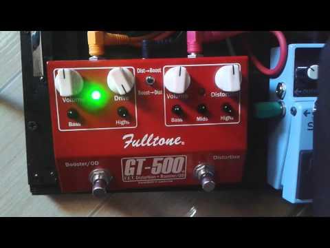 Review Fulltone GT-500