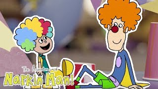 The Adventures of Napkin Man | CLOWNING AROUND | Episode | Cartoons for Kids