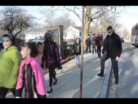 Spencer Borden Walk to School   March 7, 2012