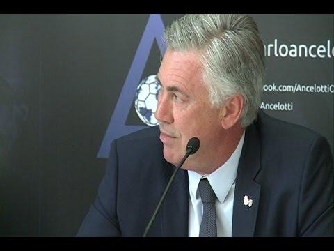 Ancelotti está muy contento con la actual plantilla