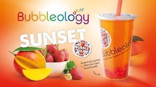 BUBBLEOLOGY   Speciální drink na tento týden SUNSET!