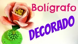 Cooking | Bolígrafo decorado. Decorated pen. | Boligrafo decorado. Decorated pen.
