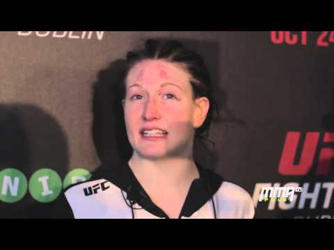 UFC Dublin Post-Fight: Aisling Daly will 'fight anybody anytime'