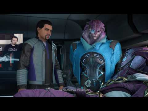 Mass Effect: Andromeda playthrough pt46 - Crazy Escape!/EPIC Drack Game Bug....WWTF?!