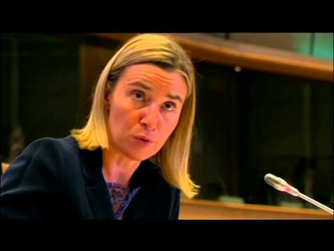 Mogherini Talks Tough on Russia: New EU foreign policy chief hawkish over Kremlin Ukraine war