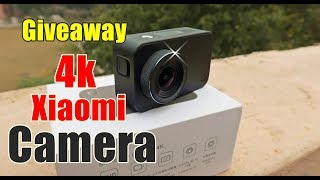 Giveaway + Review Xiaomi Action Camera 4k Ultra HD