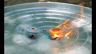 Fire Shot Requiem Spriggan Battle!!! Beyblade Burst!