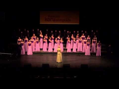 NNSU Choir - Supermassive Black Hole (World Choir Games Riga 2014 - Popular Choral Music)
