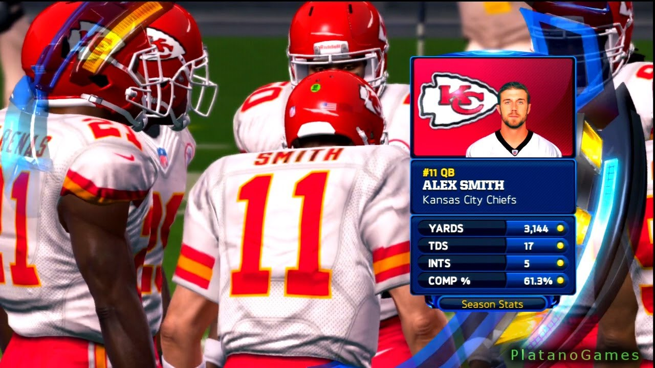 Alex smith chiefs madden