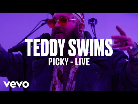 Teddy Swims - Picky (Live) | Vevo DSCVR