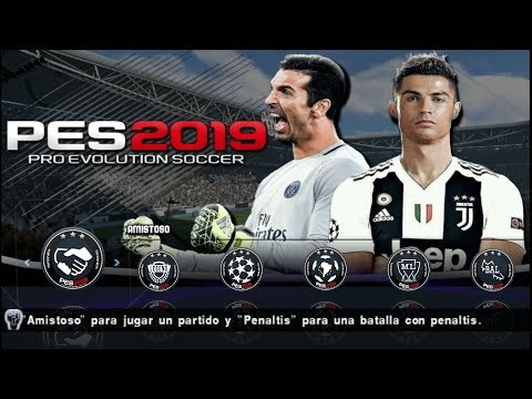 PES 2019 PPSSPP New Camera PS4 Android Offline 700MB Best Graphics C.Ronaldo in Juventus #1