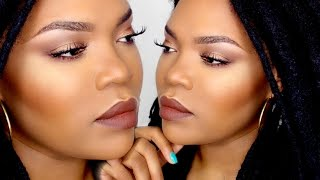 TUTO Maquillage à Petit Prix Gold and Brown/ Drugstore Makeup