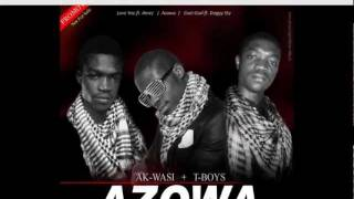 GHANA MUSIC AK'WASI & T BOYZ (Traffic)  AZOWA .. azonto