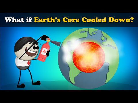 What if Earth's Core Cooled Down? | #aumsum