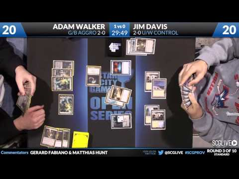 SCGProv - Std - Rd 3 - Jim Davis vs Adam Walker