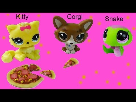 Bobbleheads LPS Kitty Corgi Snake Littlest Pet Shop Toy Review Shopping Haul Opening